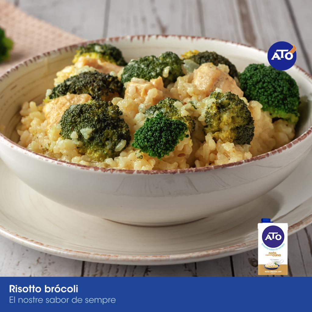 risotto brócoli